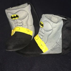 Other - BATMAN Slippers Ankle Boots w/Cape